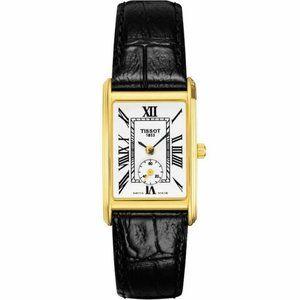TISSOT Women Luxury Watch T-Gold Helvetia 18K Gold T71331013